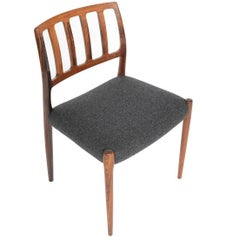 N.O. Møller Model 83 Dining Chair in Rosewood