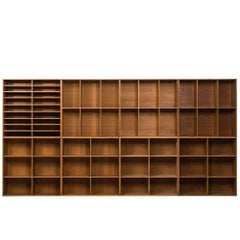Set of Eight Bookcases Designed by Mogens Koch Produced by Rud Rasmussen