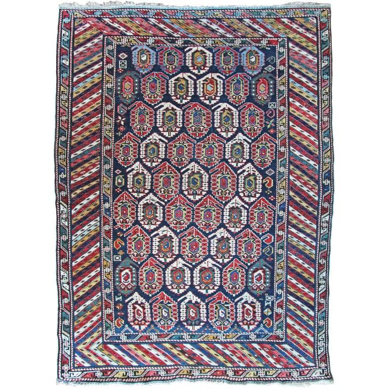 Antique Kuba Caucasian Rug