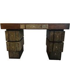 R&Y Augousti Shagreen Desk