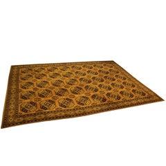 Mid-Century Modern Bergoss Large Rya Scandinavian Area Rug Carpet
