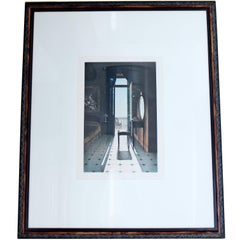 Le Miroir Framed Print Signed Dated 1989 Numbered 78/100 by Lynne Shaler