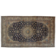 20th Century Blue Nain Habibian Rug