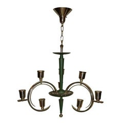 Italian Art Deco Chandelier