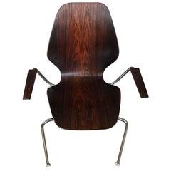 Set of Three Midcentury Danish Rosewood Chairs
