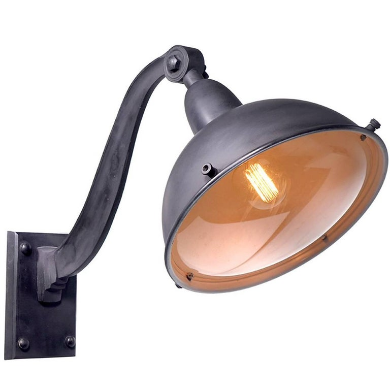 Large 1920s Style French Street Lights