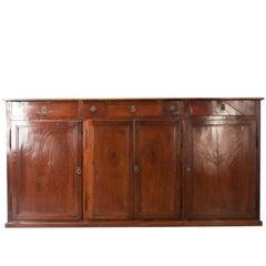 English 19th Century Mahogany Sideboard