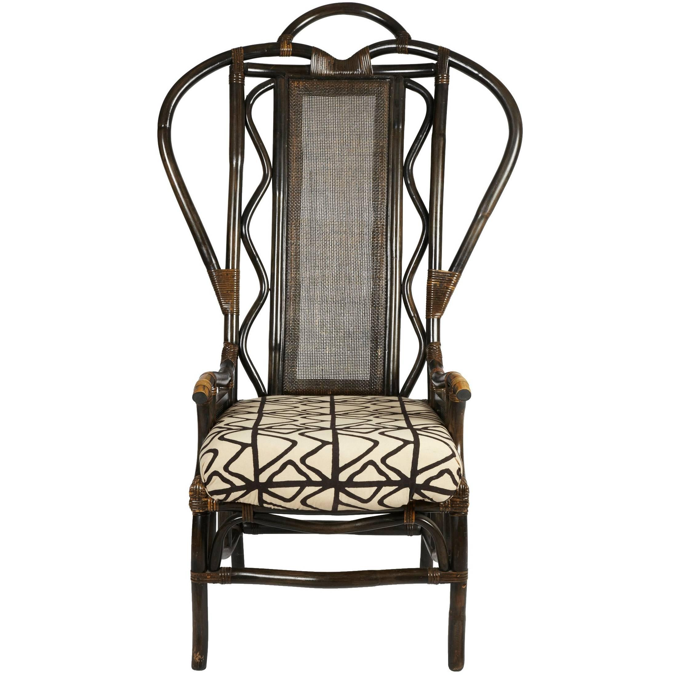 1950s High Back Bentwood Chair