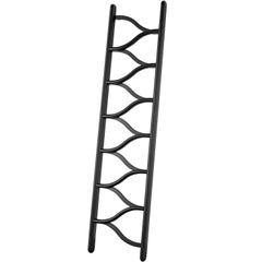 Ladder in Bentwood, Steam-formed Ash, Laquered in black