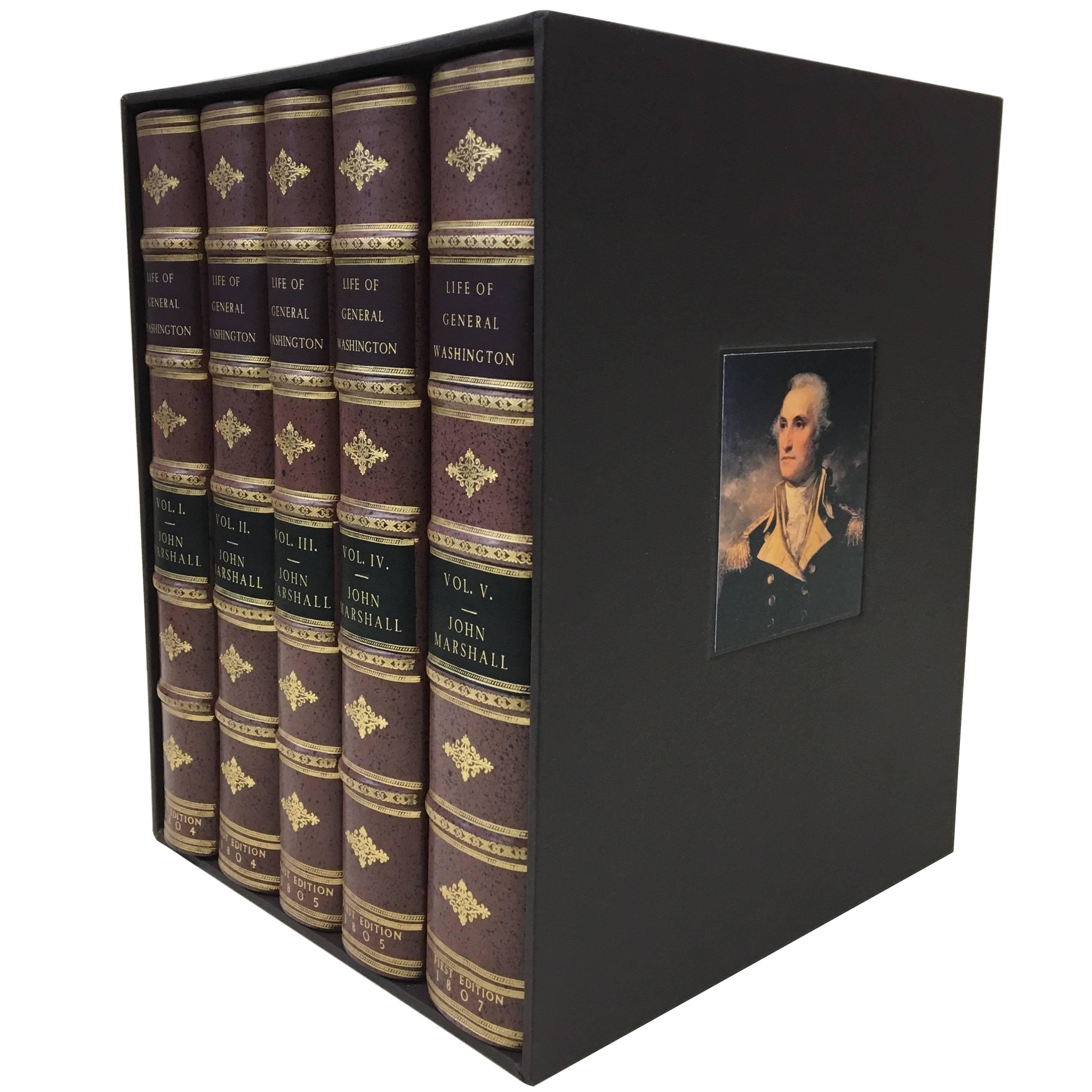 """The Life of George Washington"" by John Marshall, First Edition, circa 1804-1807"