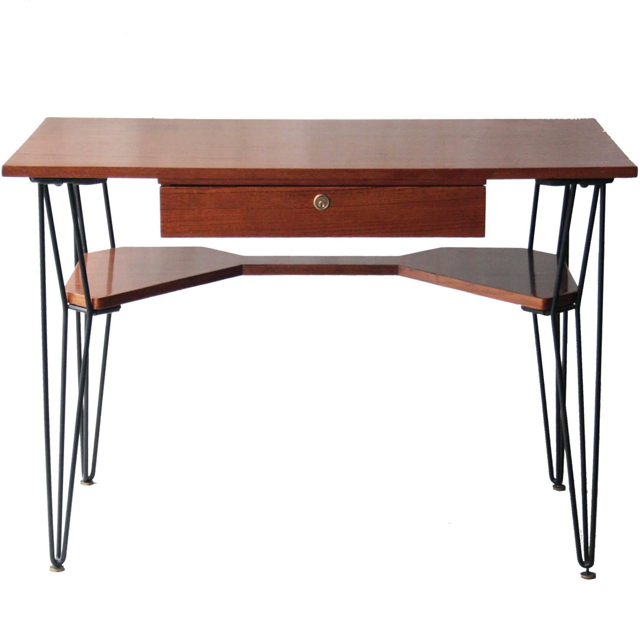 Childs Desk Attributed To Gio Ponti Original Condition, Italy, Circa
