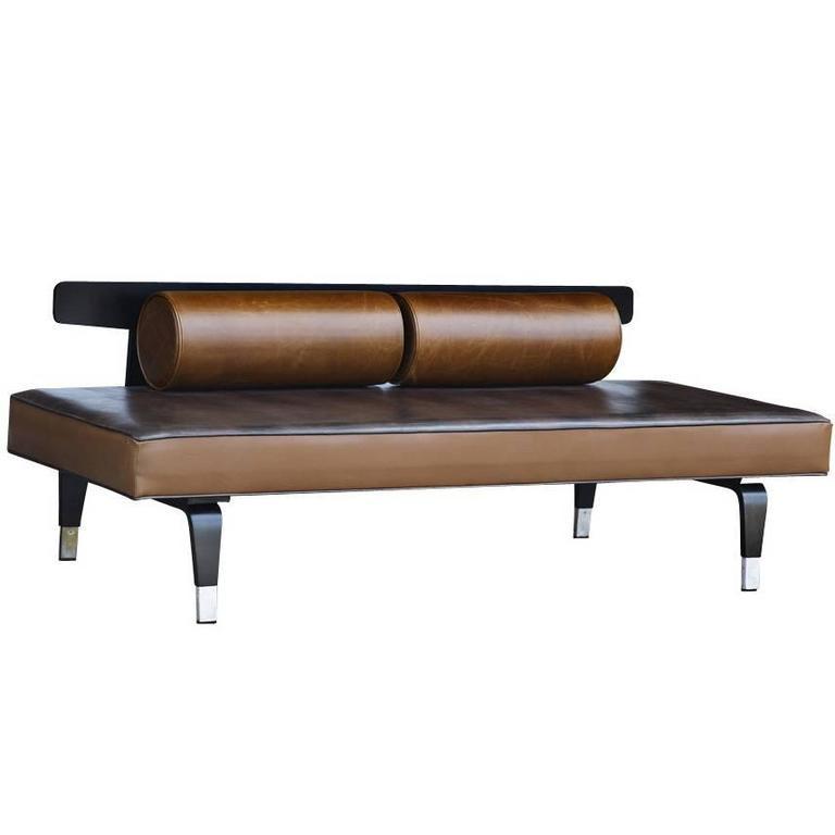 Mid century modern thonet daybed sofa restored for sale at for Mid century daybed sofa