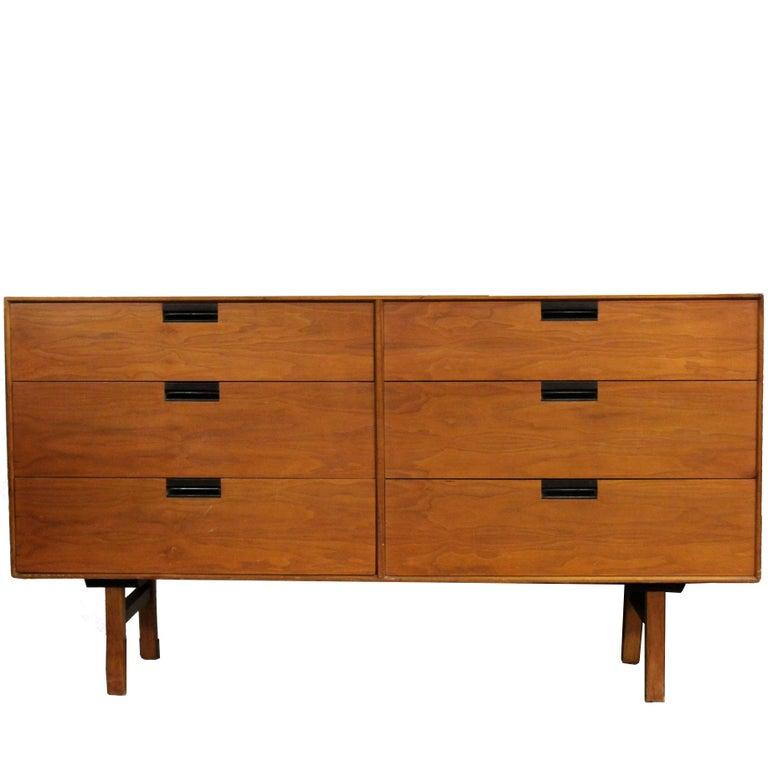Mid-Century Modern Milo Baughman for Arch Gordon Lowboy Dresser Credenza, 1950s