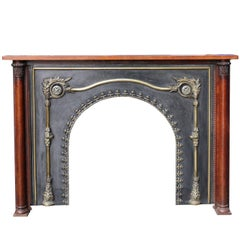 Early 19th Century Fireplace with Insert