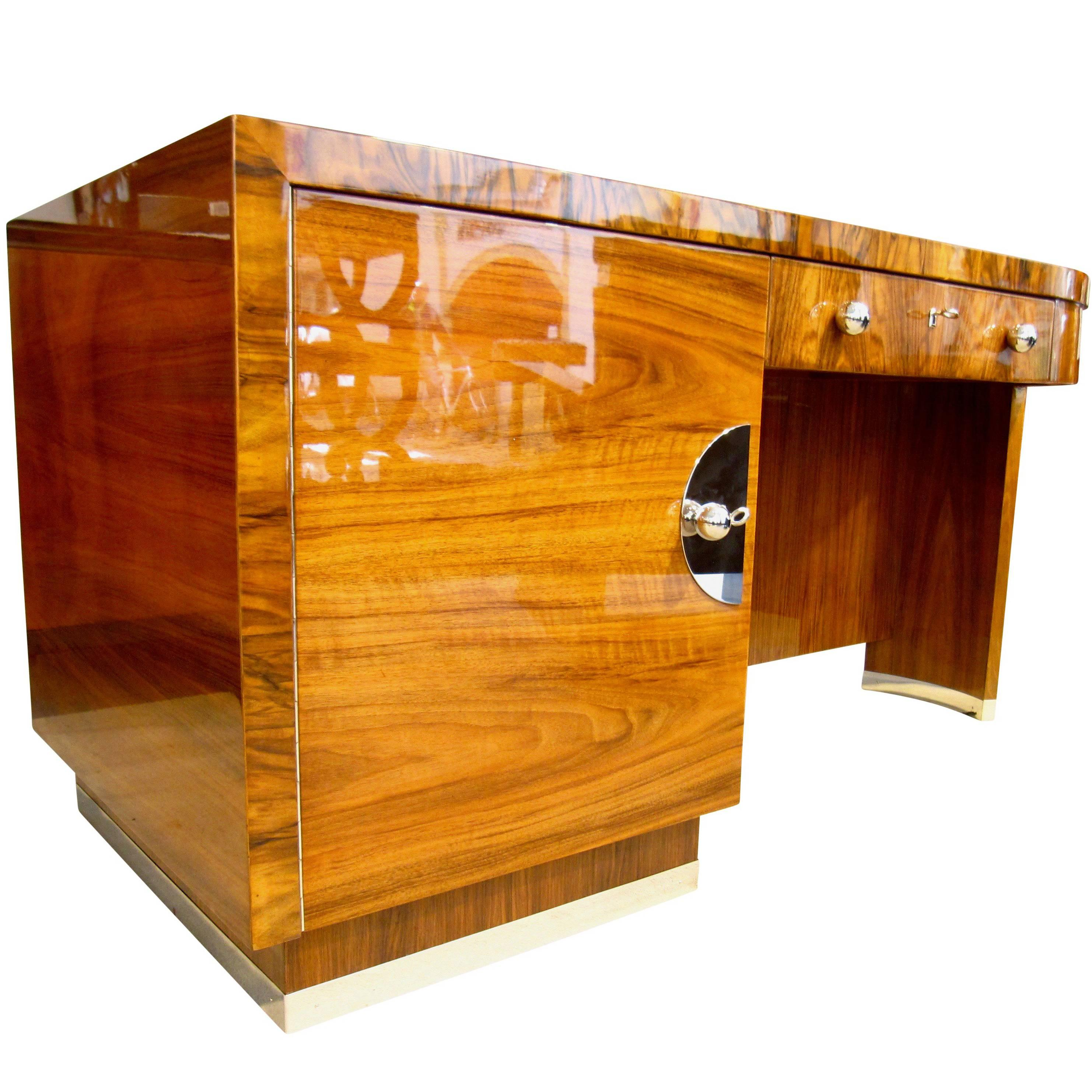 bauhaus desk mobel deutsche werkstatten walnut germany circa 1930 at 1stdibs