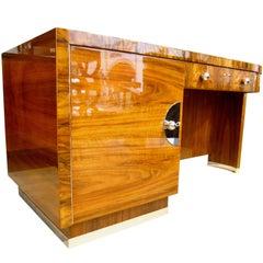Bauhaus Desk, Möbel Deutsche Werkstätten, Walnut, Germany circa 1930