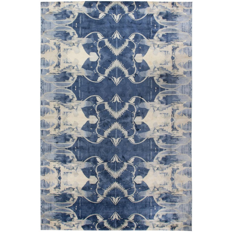 Blucie Designed Rug At 1stdibs