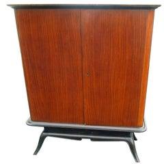 Vintage South American Au Meuble Rustique Armoire Credenza Buffet