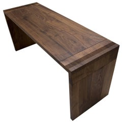 Wellesley Desk in Solid Walnut by May Furniture