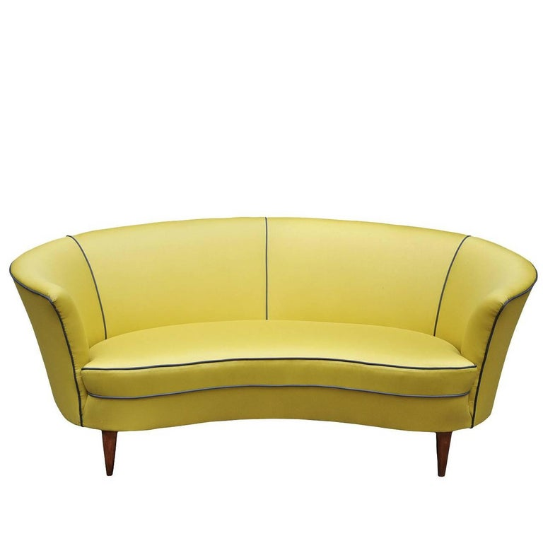 Ico Parisi Two-Seat Sofa