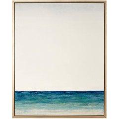 "Origina Acrylic on Wood ""Reflections III"" by Michelle Woolley Sauter"
