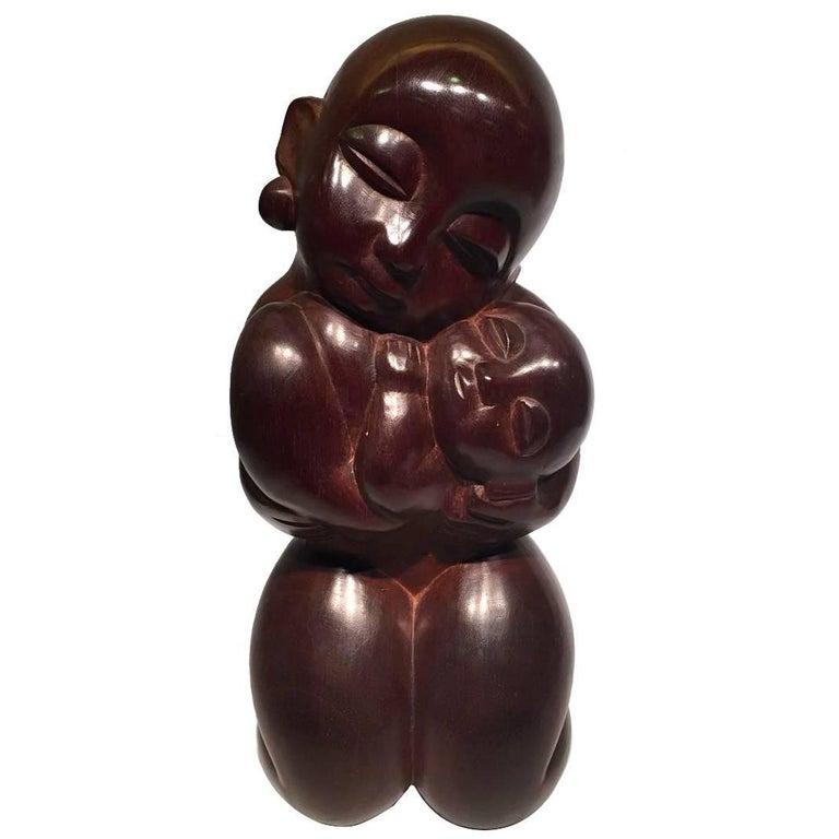 Agenor, Rare Brazilian Wood Sculpture
