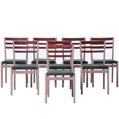 Danish Modern Ladder-Back Chairs