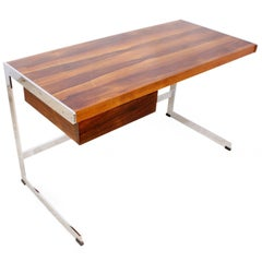 Midcentury Rosewood Desk by Merrow Associates