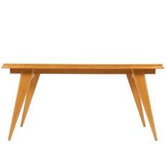 Mid-Century Modern Satinwood Table, circa 1950