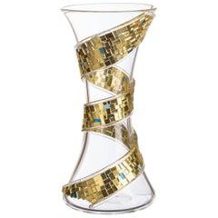Spira Gold Vase
