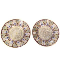 19th Century Me Imple de Sevres Porcelain Plates
