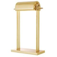 Hampton Table Lamp in Polished Brass