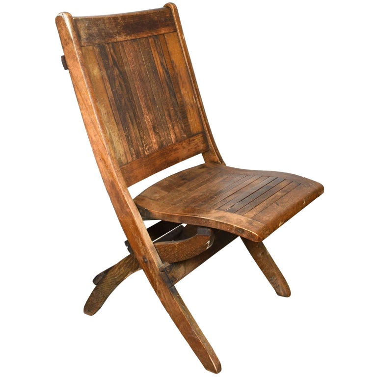 Wood Slat Folding Chair Multiple Available For