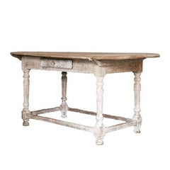 19th Antique French Oval Table
