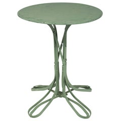 Green French Vintage Bistro Table