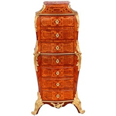 Louis XVI Style Seven-Drawer Chest of Drawers
