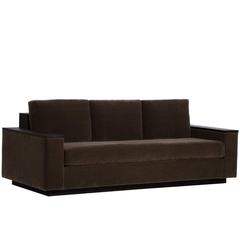 Bolton Sofa in Mohair For Sale