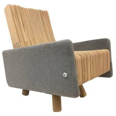 Custom Plywood Lounge Chair