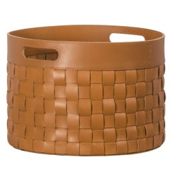 Verona Small Round Storage Basket