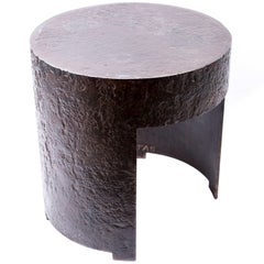 Designed Iron Side Table