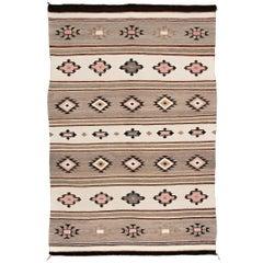 Vintage Navajo Trading Post Rug, Chinle Revival Pattern, circa 1935