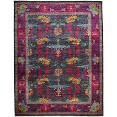 Arts & Crafts, Hand-Knotted Area Rug