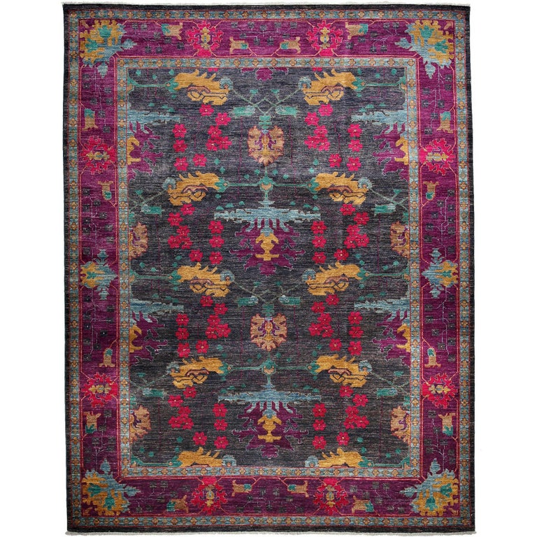 how to make a hand knotted rug