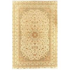 Large Vintage 70 Radj Said Alizadeh Tabriz Persian Rug