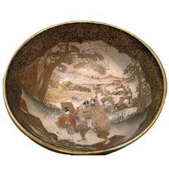 19th Century Japanese Satsuma Bowl