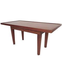 Midcentury Walnut Coffee Table