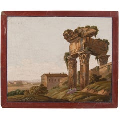 Early 19th Century Italian Neoclassical Style Micromosaic