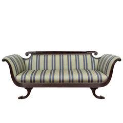 Federal Style Mahogany Sofa, circa 1950