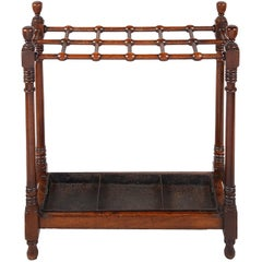 Regency Period Mahogany Stick Stand