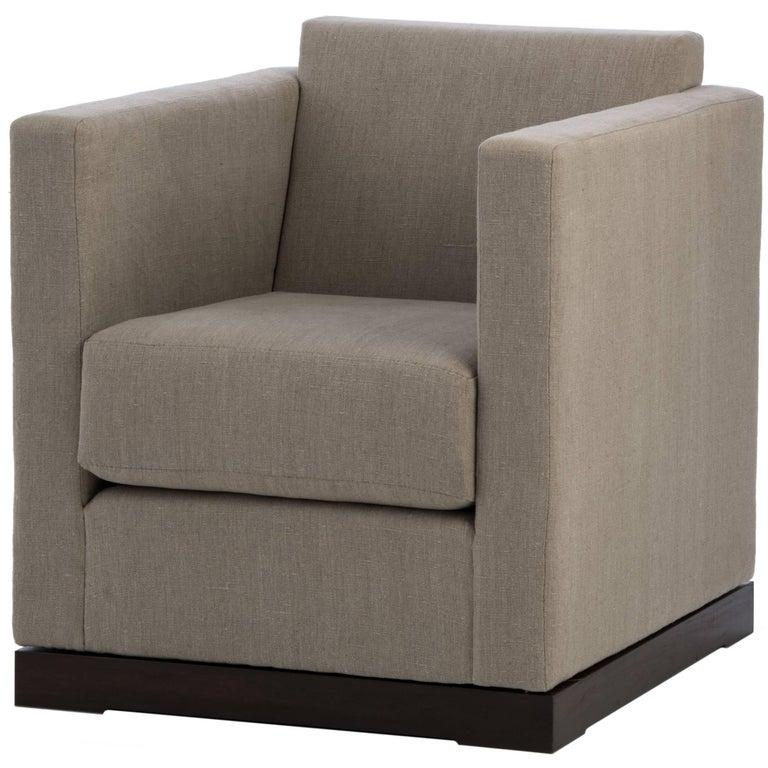 Ralph Swivel Club Chair For Sale